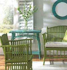 from Laurel-- designer friendly Kenian Fine Rattan Furniture - Leader In Rattan & Bamboo Furniture Cane Furniture, Bamboo Furniture, Painted Furniture, Outdoor Furniture Sets, Furniture Stores, Office Furniture, Furniture Ideas, Painting Wicker Furniture, Furniture Design