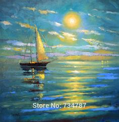 teal and yellow paintings - Google Search