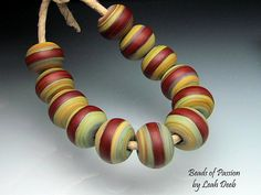 Glass Beads of Passion SRA Artisan Leah Deeb by BeadsofPassion, $36.00