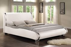 Pat tapițat Santosa Camas King Size, Black Bedding, King Beds, Modern Design, Couch, Leather, Home Decor, Furniture Ideas, Bedroom Ideas