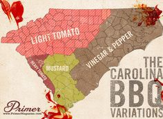 carolina bbq variations - I favor Eastern vinegar and pepper