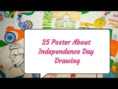 25 Poster About Independence Day Drawing || Happy Independence Day || Independence Day Poster - YouTube Independence Day Drawing, Independence Day Poster, Happy Independence Day, Drawings, Youtube, Sketches, Drawing, Portrait, Youtubers