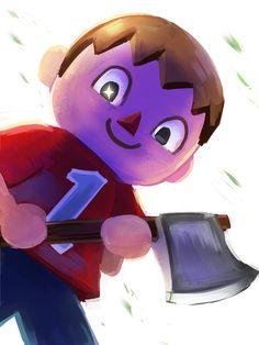 #Super Smash Bros #Villager #Wii U #E3