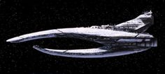 The Interdictor-class cruiser, also known as the hyperspace interdiction cruiser and the Interdictor-class Sith Destroyer, was among the most numerous capital ships seen in action with the Sith Navy during and after the Jedi Civil War. The Interdictor-class was 600 meters long and featured a hull that split into two structures, one dorsal and one ventral. The ship was propelled by three main thrusters and four auxiliary thrusters, similar to the Imperial-class Star Destroyer. Each ship…