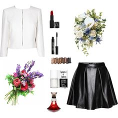. by explorer-14318814164 on Polyvore featuring polyvore fashion style L.K.Bennett Urban Decay Lord & Berry Uslu Airlines