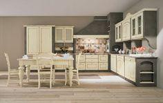 cucina muratura shabby chic - Cerca con Google