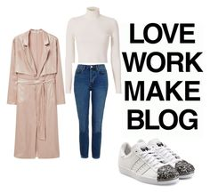 """""""Blogger Style"""" by odetteinspiration on Polyvore featuring MANGO, adidas Originals, A.L.C. and Topshop"""