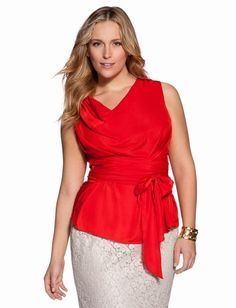 plus size cowl neck blouse - Google Search