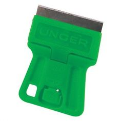 The MiniScraper is the perfect tool for getting into those tight spots and ideal for working on counter tops. Its contoured design makes it easy to hold. For safe transport when you are finished using it, flip the blade around and snap it back closed. The scraper is extremely small and goes with you anywhere.