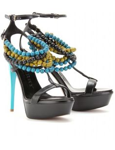 Burberry Platform Sandals. if only i could walk without killing myself in them