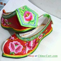 Shoe making inspiration - Traditional Chinese shoes