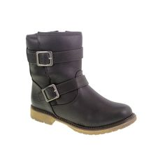 Riot Girl Strappy Buckled Bootie Black