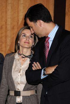 Felipe y Letizia, un amor real
