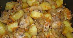 kulonleges-burgonya-fenseges-etel-ami-bojt-idejen-is-fogyaszthato Us Foods, Potato Salad, Shrimp, Vegetarian Recipes, Snacks, Vegan, Dishes, Chicken, Vegetables
