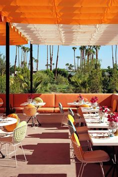 Norma's is a fantastic al fresco brunch spot, with a bright style and sunny views. Le Parker Méridien Palm Springs (Palm Springs, California) - Jetsetter