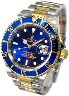 $6100 ROLEX 16613 SUBMARINER 18K STAINLESS Very Good | MAX PAWN | MAX033045 | Buya @maxpawn #maxpawn #rolex