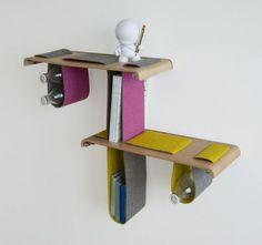 The Boa Shelf , gli scaffali di Tuyo Design Studio