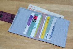 Upcycled shirts to wallet! @vickymcreations