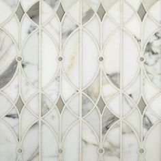 Artistic tile Valencia Lucido glass and stone water jetted mosaic
