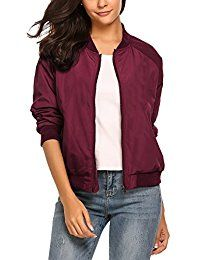 New Zeagoo Womens Classic Quilted Jacket Short Bomber Jacket Coat online. Find the perfect Hollywood Star Fashion Tops-Tees from top store. Sku EGYS75645PXBR59940