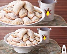 Ravioli, Gelato, Cookie Recipes, Almond, Cookies, Baking, Vegetables, Sweet, Desserts