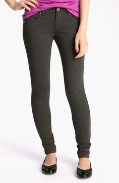 See Thru Soul Skinny Ponte Pants