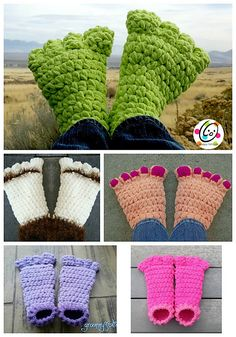 Ravelry: Troll Toes and Big Feet pattern by Heidi Yates
