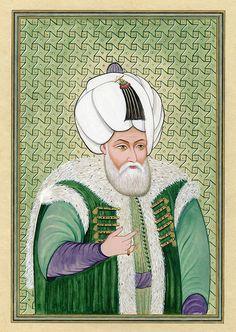 Sultan II. Beyazıt   Portraits: Ottoman Sultans   Collections   Fine Islamic Arts   Şermin Ciddi