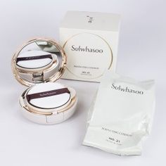 Sulwhasoo Cream Foundation 21 Medium Pink Anti-Aging Made in Korea Cosmetic 8801042798397 Korean Products, High Fashion Looks, Makeup Store, Spa Treatments, Beauty Industry, Korean Skincare, Korean Beauty, Beauty Trends, Beauty Care
