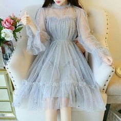 types of dresses, cute dresses, beautiful dress Mesh Dress, Tulle Dress, Boho Dress, Sequin Dress, Swag Dress, Lace Dress, Strapless Dress, Mode Outfits, Girly Outfits