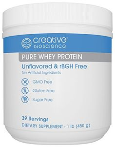 Creative Bioscience Pure Whey Protein 1 Pound * Check out this great product.