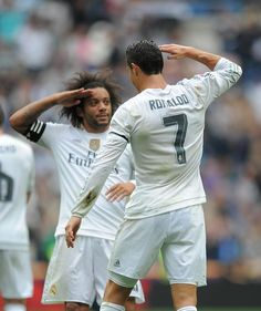 Cristiano Ronaldo & Marcelo Real Madrid