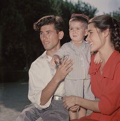 Молодая семья. Туркмения, 1950-е
