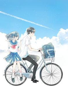♡ Sky haven ♡ Anime Couples Drawings, Anime Couples Manga, Cute Anime Couples, Anime Guys, Anime Girl Cute, Anime Art Girl, Manga Art, Manga Anime, Cute Couple Art