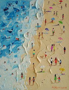 ᐅ Die 99 Besten Bilder von Illustration in 2019 Alena Shymchonak Painting Inspiration, Art Inspo, Arte Pop, Art And Illustration, Fine Art, Beach Art, Painting & Drawing, Love Painting, Painting Abstract