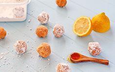 Super easy no-bake cookie recipes! Coconut lemon drops, chocolate ...