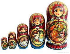 Poupée russe  (Matriochka) -