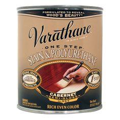 Varathane 225248H 1 Quart Cabernet 1 Step Stain