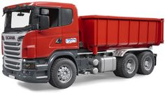 The Scania R-Series Truck with Roll-Off Container from the Bruder Truck collection - Discounts on all Bruder Toys at Wonderland Models.  One of our favourite models in the Bruder Trucks range is the Bruder Scania R-Series Truck with Roll-Off Container.  http://www.wonderlandmodels.com/products/bruder-scania-r-series-truck-roll-container/