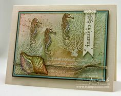 The Stamp Review Crew: By the Tide Edition - The Stampin' Schach