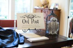 Owl Post from a Wizarding World of Harry Potter Birthday Party on Kara's Party Ideas | KarasPartyIdeas.com (18)