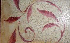 Cómo hacer craquelado sobre madera Crochet Crafts, Diy Crafts, Application Pattern, Paint Designs, Digital Scrapbooking, Stencils, Candle Holders, Cross Stitch, Texture