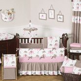 Found it at Wayfair - Elephant Pink Mod Crib Bedding Collection