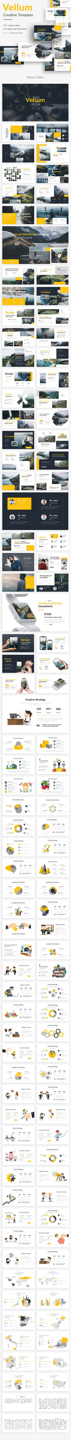 Vellum Creative Design Google Slide Template