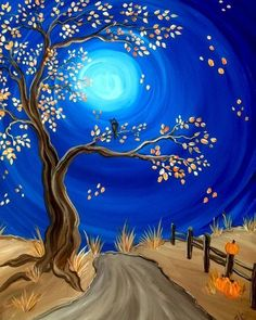 Once you're sure about the painting niche, it'd be easy for you to craft a masterpiece. So, use your creativity to craft amazing tree painting ideas. Autumn Painting, Autumn Art, Tree Painting Easy, Fall Canvas Painting, Abstract Tree Painting, Abstract Art, Autumn Trees, Wine And Canvas, Easy Paintings