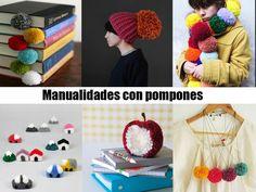 ¿Quieres conocer las mejores manualidades con pompones? He hecho una recopilación de manualidades para decorar tu casa y a los tuyos con pompones.