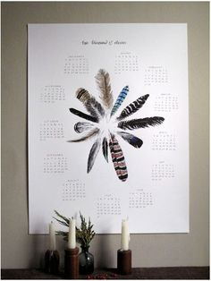 Calendar from The Wild Unknown