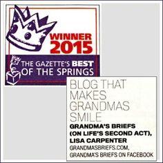 Grandma's Briefs — Home — How to write a keepsake letter to a grandchild