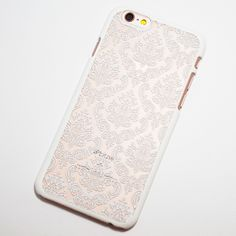 White Vintage Pattern iPhone 6 / iPhone 6S Hard Case
