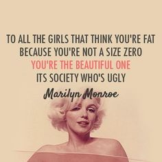 From someone who is a size zero...